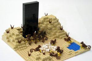Representação Lego do Monólito